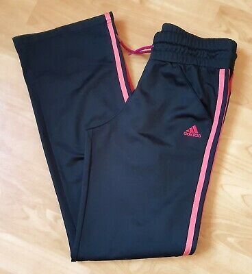 delicate colors reasonable price lower price with ADIDAS MÄDCHEN JOGGINGHOSE Sporthose Hose schwarz pink Gr ...
