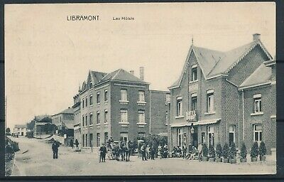 [164] Libramont CPA - Les Hotels