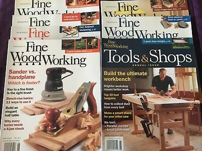 Taunton's Fine Wood Working, complete 2010  magazine collection, w free shipping