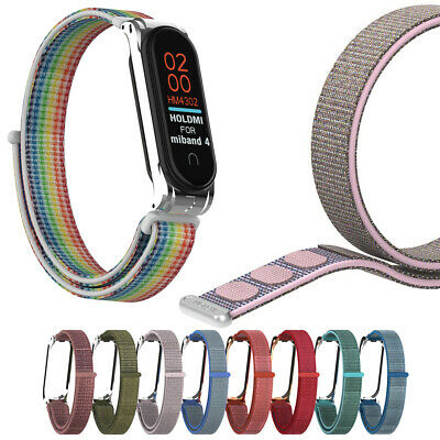 Fiber Band Wrist Strap Replacement Wristband Breathable For Xiaomi Mi Band 4 3