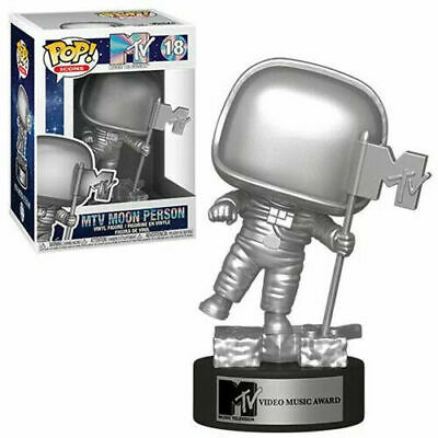PRE-ORDER Funko Pop MTv Moon Person Vinyl Figure NIB w/ .5 mm Protector
