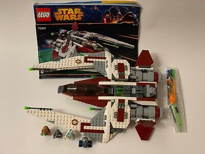 2014 Lego Star Wars 75051 Jedi Scout Fighter 100% Complete Manual Ithorian