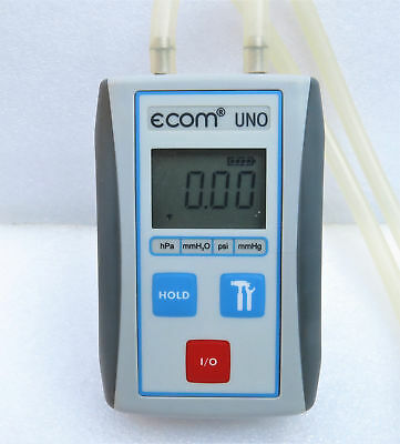 Manometro digitale differenziale ecom uno pressure meter professional compatto