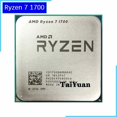 AMD Ryzen R7 1700 3.0GHz 8-Core Processor Socket AM4 CPU Worked on X370 B350