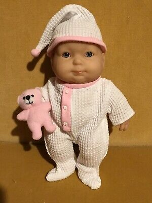 BERENGUER Baby Soft Vinyl Doll Toy 21cm Tall Excellent Condition New Outfit