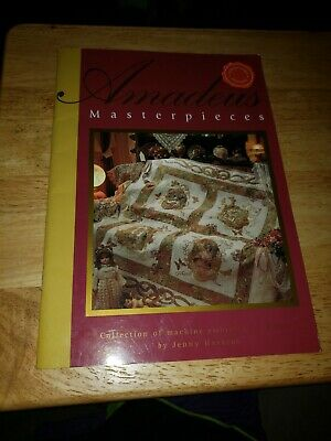 AMADEUS MASTERPIECES By Jenny Haskins Machine Embroidery collectors edition