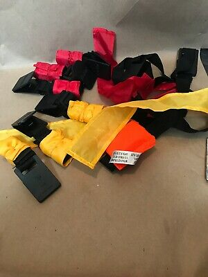 Franklin 8-Players Flag Red&Yellow Belts Bag Marker Football Kit