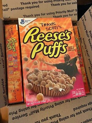 Travis Scott x Reese's Puffs cereal