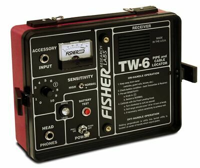 Fisher Labs TW-6 Pipe & Cable Locator