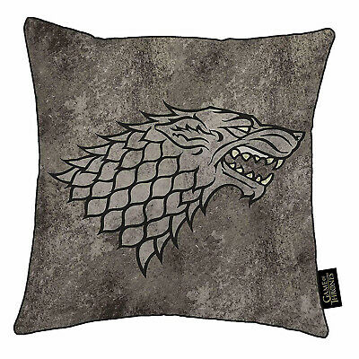 Game Of Thrones House Stark Square Cushion - 100% Official HBO Licensed