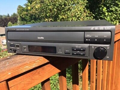 Pioneer CLD-V2600 LaserDisc Player (LD/CD/CDV) - Fully Operational