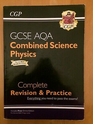 CGP revision pack of 3 - GCSE AQA Combined Science: biology, chemistry, physics