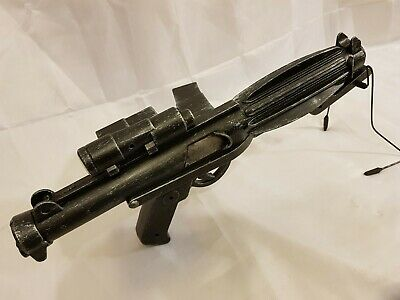 Star Wars Memorabilia Heavy Stormtrooper E-11 Blaster Custom Painted
