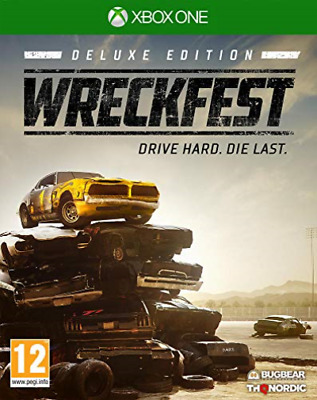 Microsoft Xbox One-WRECKFEST DELUXE EDITION GAME NEUF