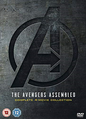 Avengers 4 Movie Collection DVD NUOVO