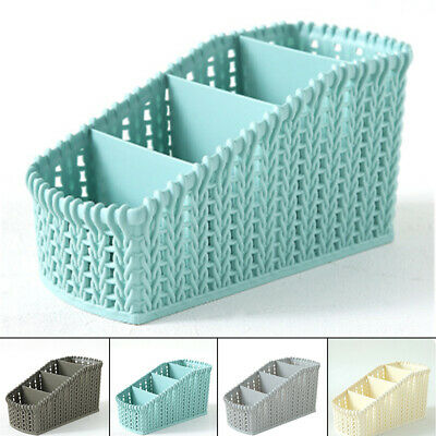 1X Plastic Storage Basket Box Bin Container Organizer Clothes Laundry Home Holde