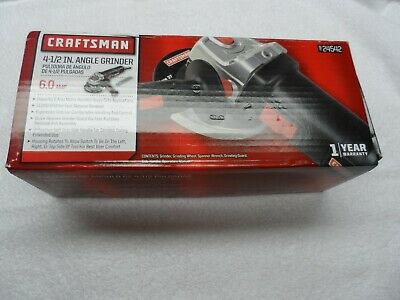 """Craftsman 24542 4.5"""" 6A Angle Grinder (Corded) - Part # 24542"""