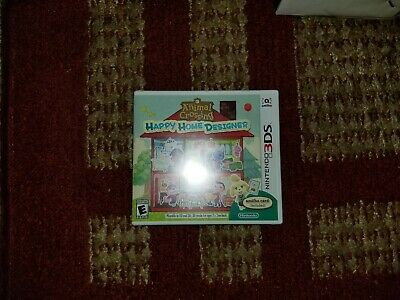 Nintendo Animal Crossing: Happy Home Designer (Nintendo 3DS, 2015) NEW SEALED