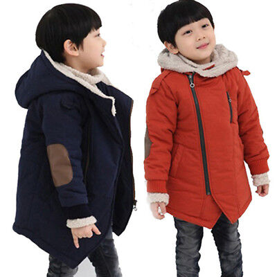 Winter Jacket Clothing Fine Children Jackets Boys Hooded With Fur Outerwear Warm
