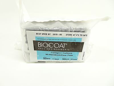 Becton Dickinson BIOCOAT Collagen/Cellware 96-Well Black/Clear Plate 354649
