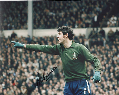 PETER BONETTI Signed 10x8 Photo CHELSEA Legend COA