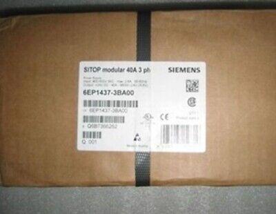1PC New In Box SIEMENS 6EP1 437-3BA00 SITOP Power Supply 400-500VAC