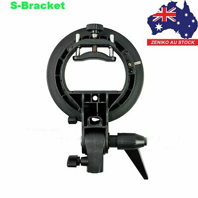 AU STOCK Godox S-Type Flash Speedlite Bracket For Softbox Umbrella Bowens Mount