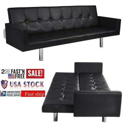 Enjoyable Vidaxl L Shaped Sofa Bed Artificial Leather Lounge Couch Pabps2019 Chair Design Images Pabps2019Com