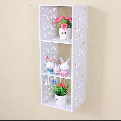 Cube WPC Wooden Wall Cube Floating Shelf Display Storage Unit Cubes Set