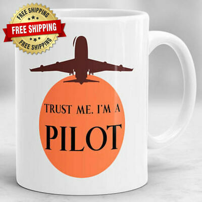 Pilot Presents Pilot Gifts Design 3 Crazy Tony/'s Personalised Pilot Gift Mug