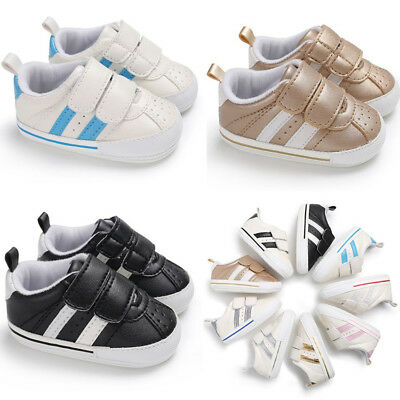INFANT BABY FASHION SNEAKERS For GIRLS BOYS CASUAL WALKING SHOES SOFT SOLE SIZE