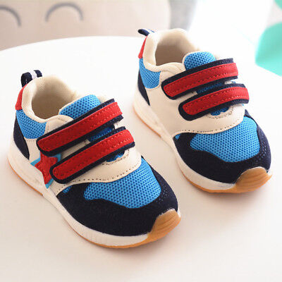 2019 Kids Boy Sports Shoes Baby Girl Breathable Shoes Children Casual Shoes Size