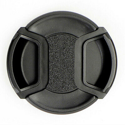 49mm Durable Front Lens Cap Hood Cover Snap-on With Rope for Canon Nikon Camera