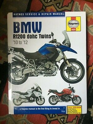 H4925 BMW R1200 DOHC Twin Cylinder 2010-2012 Haynes Motorcycle Repair Manual