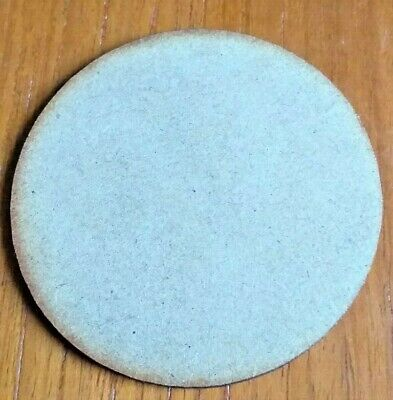 Circle 6mm thick Square-Edged MDF 100mm wooden shape 450mm Diameter
