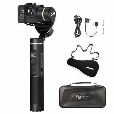 US Ship Feiyu G6 3-Axis Splashproof Gimbal for Gopro 6 5 Sony RX0 WIFI Bluetooth