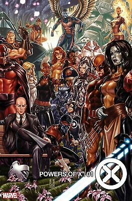 POWERS OF X #1 Cover B Variant Mark Brooks Connecting Cover Hickman XMen 7/31/19