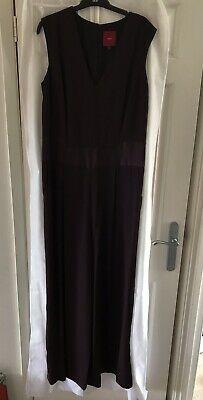 jumpsuit size 16 Next ladies damson