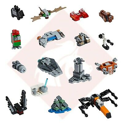 LEGO Star Wars 16x Sealed Mini Builds from 2019 Advent Calendar 75245