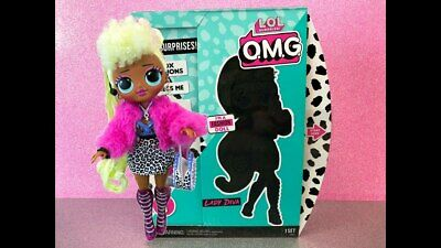 """In Hand LOL Surprise Series OMG Lady Diva 10"""" Fashion Doll Big Sister Clothing"""
