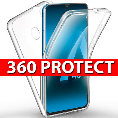 360 Case for Samsung Galaxy A20e Ultra Slim Shockproof Silicone Gel CLEAR Cover