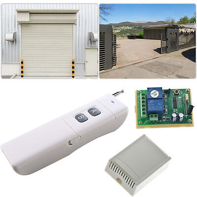 REMOTE CONTROL SYSTEM, Long Distance Wireless Switch