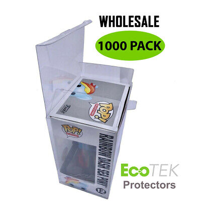 "WHOLESALE Lot 1000 Collectible Funko Pop! Protector Case 4"" inch Vinyl Figures"