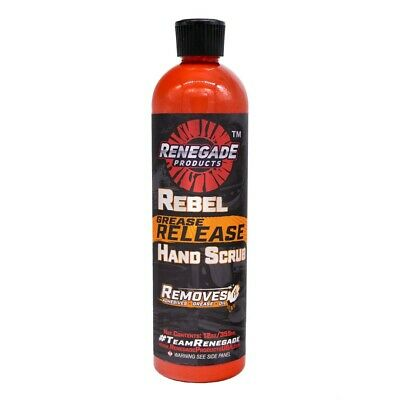 citrus scent hand cleaner rebel grease release wet or dry use scrub all natural