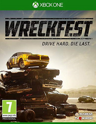 Xbox One Reorderable-Wreckfest Xbo GAME NEUF