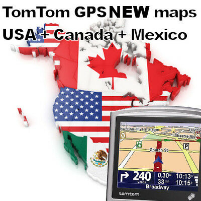 +++ GPS TomTom ONE | USA CANADA and MEXICO maps (2019) | perfect Navigator +++