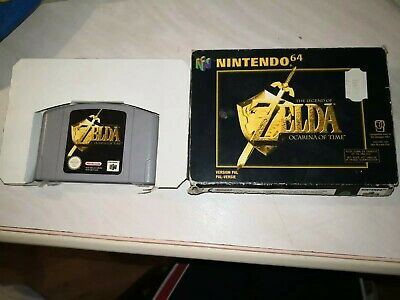 The Legend of Zelda Ocarina of Time Nintendo 64 COMPLET