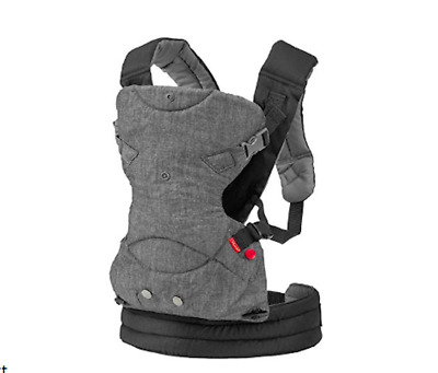 Infantino Flip 4-in-1 Convertible Baby Carrier - Gray (200-183) Fusion