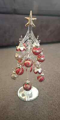 Gorgeous Ornamental Glass Christmas Tree