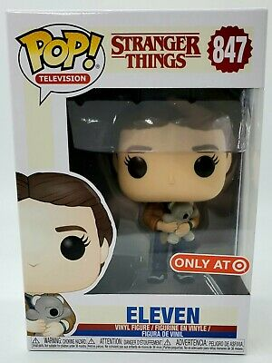 Funko Pop 847 Eleven with Bear Stranger Things Target Exclusive IN HAND *MINT*